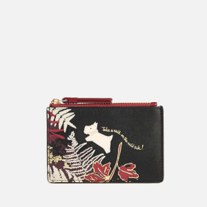 Radley Women's Wild Side Small Zip Top Coin Purse - Black