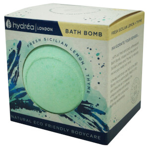 Hydrea London Uplifting Sicilian Lemon & Thyme Bath Bomb 2 x 60g