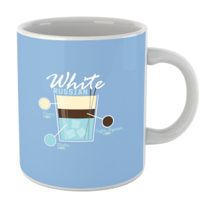 Infographic White Russian Mug