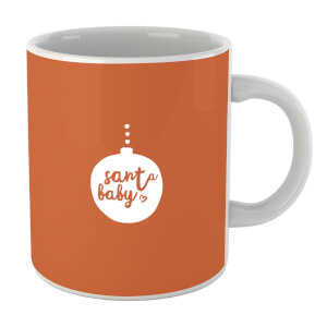 Christmas Santa Baby Bauble Mug