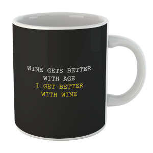 Wine Gets Better With Age Mug