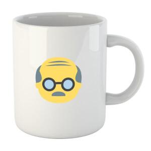 Old Man Face Mug