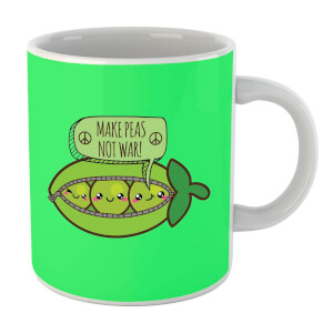 Makes Peas Not War Mug