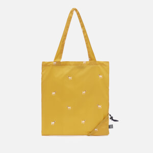 Joules Women's Dog Print Pacabag - Gold