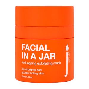 Skin Juice Facial in a Jar Exfoliating Face Mask 30ml