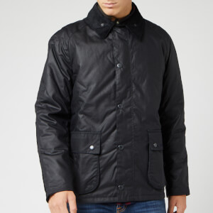 Barbour Heritage Men's Strathyre Wax Jacket - Navy