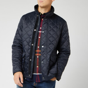 Barbour Heritage Men's Evanton Quilt Jacket - Navy