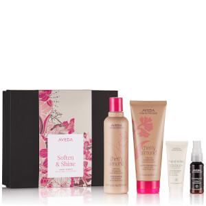 Aveda Soften & Shine Cherry Almond Hair & Body Collection