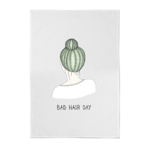 Bad Hair Day Cotton Tea Towel