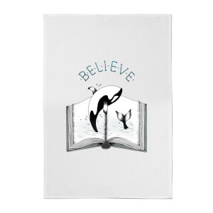 Believe Cotton Tea Towel