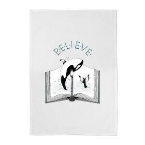 Believe Cotton Tea Towel