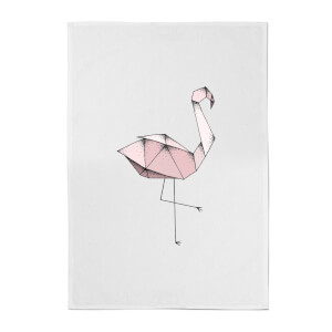 Flamingo Cotton Tea Towel