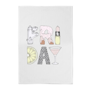 Friday Cotton Tea Towel
