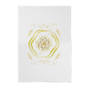 Snakes Cotton Tea Towel