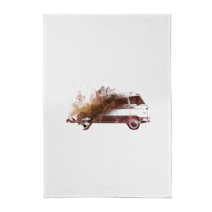 Drive Me Home Cotton Tea Towel