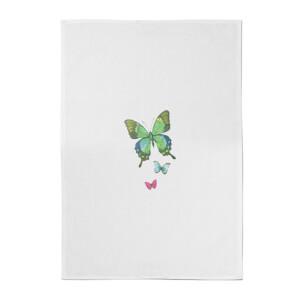 Pocket Butterflies Cotton Tea Towel