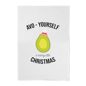 Avo-Yourself A Merry Little Christmas Cotton Tea Towel