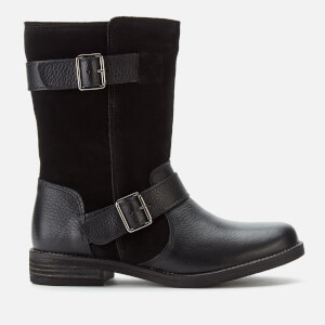 Clarks Women's Demi Flow Biker Boots - Black