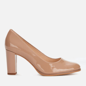 Clarks Women's Kaylin Cara Patent Court Shoes - Praline