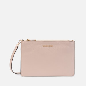 MICHAEL MICHAEL KORS Women's Crossbodies Large Double Pouch Cross Body Bag - Soft Pink/Fawn