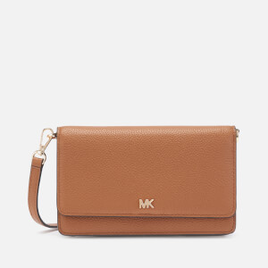 MICHAEL MICHAEL KORS Women's Crossbodies Phone Cross Body Bag - Acorn