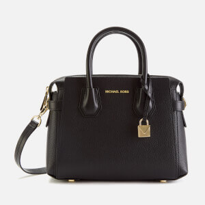 MICHAEL MICHAEL KORS Women's Mercer Belted Small Satchel Bag - Black