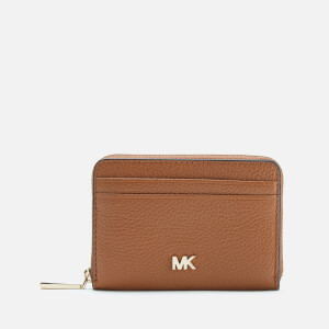 MICHAEL MICHAEL KORS Women's Money Pieces Zip Around Coin Card Case - Acorn