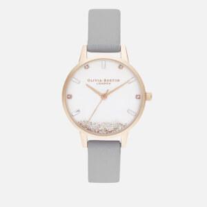 Olivia Burton Women's Wishing Watch - Grey & Rose Gold