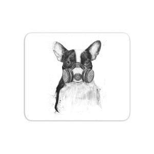 Masked Bulldog Mouse Mat