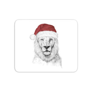 Santa Lion Mouse Mat
