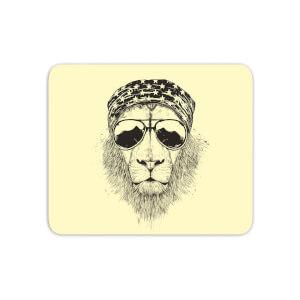 Bandana Lion Mouse Mat