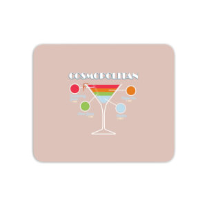 Infographic Cosmopolitan Mouse Mat