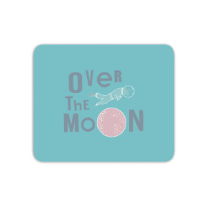 Over The Moon Mouse Mat