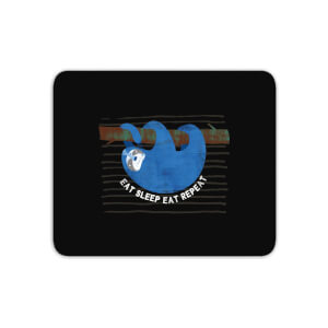 Eat Sleep Eat Repeat Mouse Mat