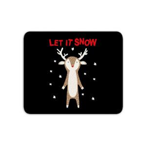 Let It Snow Mouse Mat