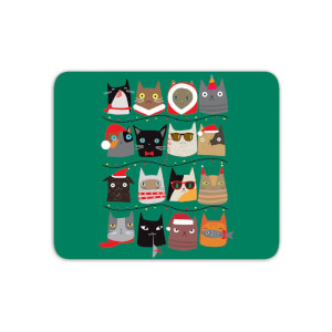 Christmas Cats Mouse Mat