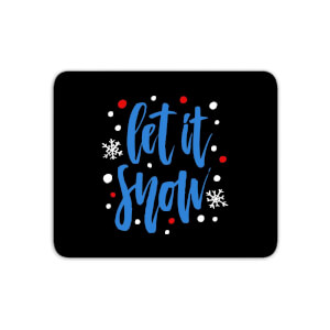Let It Snow Mouse Mat