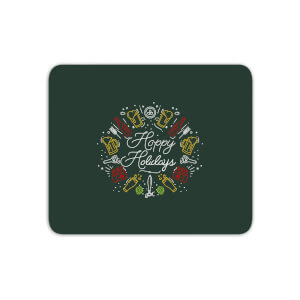 Hoppy Holidays Mouse Mat