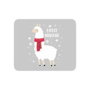 Fleece Navidad Mouse Mat