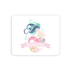 Mermaid Vibes Mouse Mat