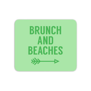 Brunch And Beaches Mouse Mat