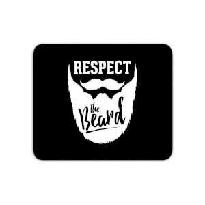 Respect The Beard Mouse Mat
