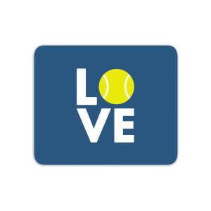 Love Tennis Mouse Mat