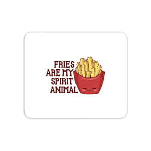 Fries Are My Spirit Animal Mouse Mat