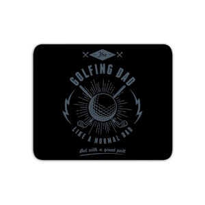 Golfing Dad Mouse Mat
