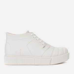 Melissa Women's Shadow Flatform Ankle Boots - White Matt