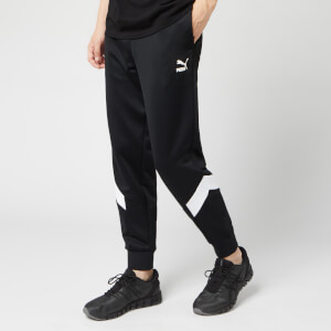 Puma Men's Iconic MCs Cuff Track Pants - Puma Black