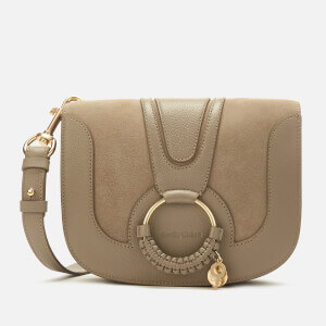 See By Chloé Women's Hana Cross Body Bag - Motty Grey