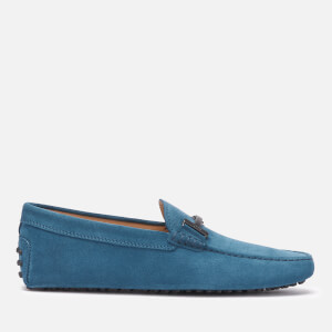 Tod's Men's Suede Dopia T Gominni Loafers - Blue