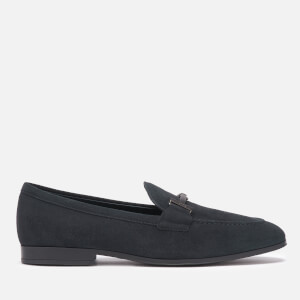 Tod's Men's Suede Doppia T Loafers - Night